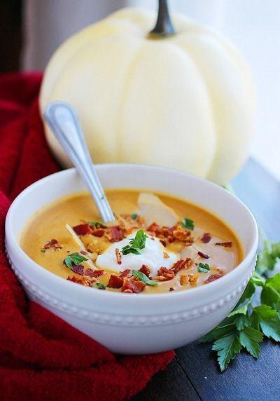 Pumpkin-Inspired Recipes: Cream of Pumpkin Soup & Roasted Pumpkin, Arugula, and Dried Cherry Salad