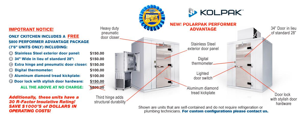 New Polarpak Performer Advantage
