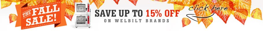 The Fall Sale! Save Up To 15% Off! On Welbilt bran