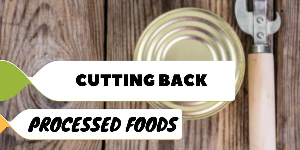 Successfully Cutting Back on Processed Foods