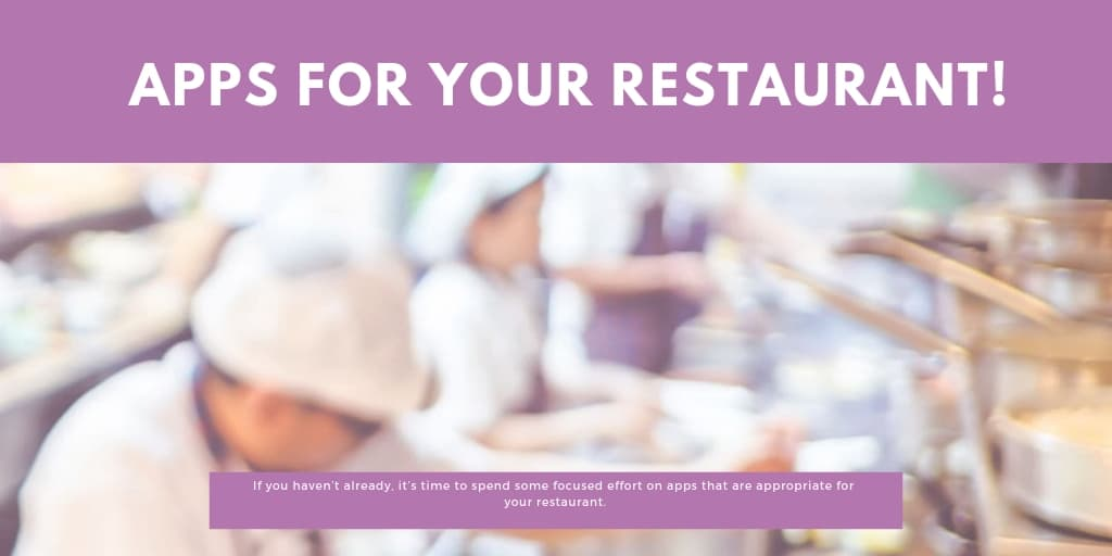Apps for your Restaurant