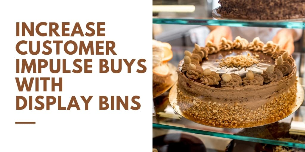 Increase Customer Impulse Buys with Display Bins