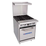 Bakers Pride Bakers Pride 24-BP-2B-G12-S20 Restaurant Series Range
