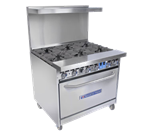 Bakers Pride Bakers Pride 36-BP-0B-G36-S30 Restaurant Series Range