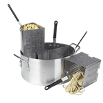 Carlisle Carlisle 60100PC Quarter-Size Sectional Pasta Cooker Set