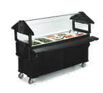 "Carlisle Carlisle 661108 SixStar"" Portable Food Bar"