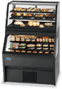 Federal Industries Federal Industries 2CRR3628/RSS6SC Specialty Display Hybrid Merchandiser Refrigerated Self-Serve Bottom With Refrigerated Service Top