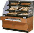 Federal Industries Federal Industries BPFD-54SS Specialty Display Non-Refrigerated Self-Serve Bakery Case