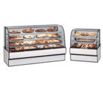 Federal Industries Federal Industries CGD7748 Curved Glass Non-Refrigerated Bakery Case