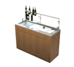 Geneva Geneva 79862 Chalet Portable Back Bar