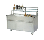 Geneva Geneva 79865 Wilson Portable Back Bar