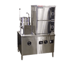 Market Forge Market Forge Industries ST-10M42MT10E Convection Steamer/Kettle Combination